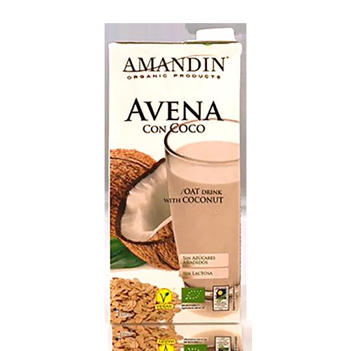 Beguda de Civada amb Coco Bio (1 l) Amandin