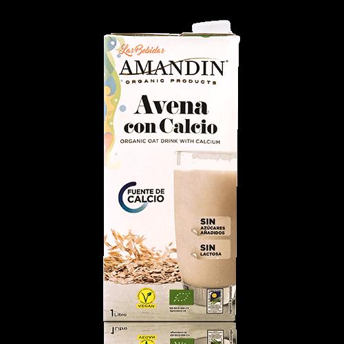 Beguda de Civada amb Calci Bio 1l Amandin
