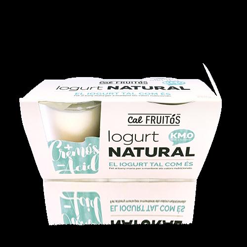 Iogurt Natural pack (2x125g) Cal Fruitós