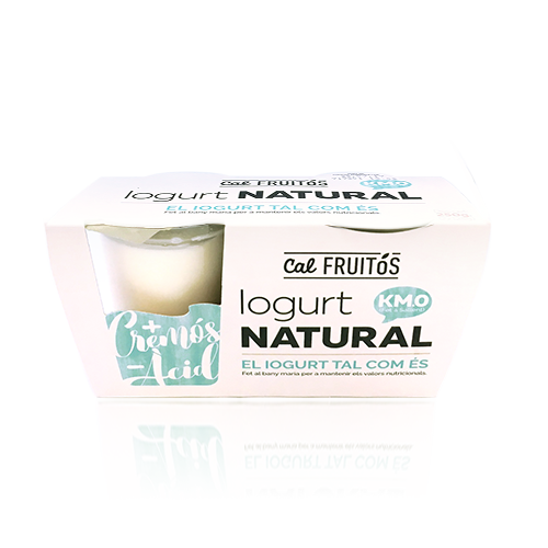 Iogurt Natural pack (2x125g) Cal Fruitós
