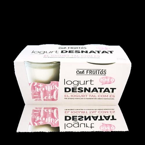 Iogurt Desnatat pack (2x125g) Cal Fruitós