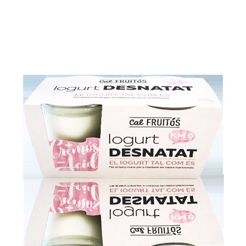 Yogur Desnatado (2x125 g) Cal Fruitós