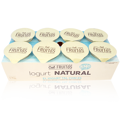 Iogurt Natural (8x125 g) Cal Fruitós