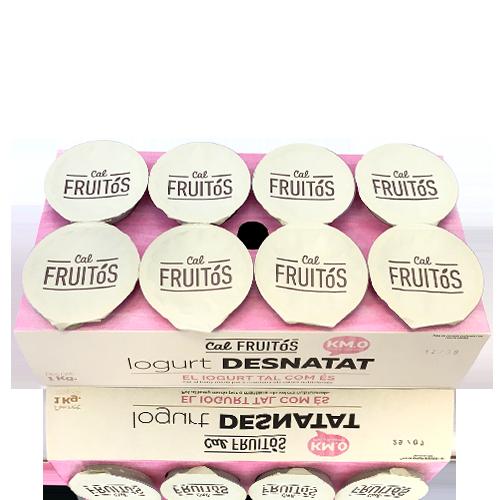 Iogurt Desnatat (8x125 g) Cal Fruitós