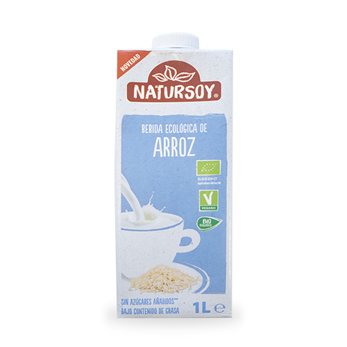 Beguda d´Arròs Bio (1 l) Natursoy