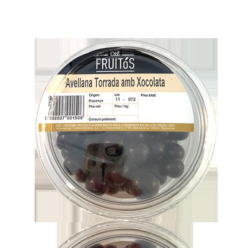Almendra Tostada con Chocolate Negro (200 g)