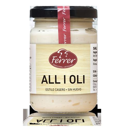 Salsa All i oli (140gr) Ferrer