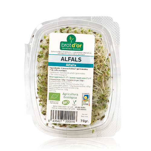 Germinado Bio de Alfalfa (70 g)