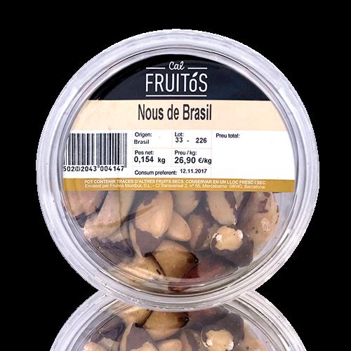 Nueces de Brasil Bandeja (150 g)