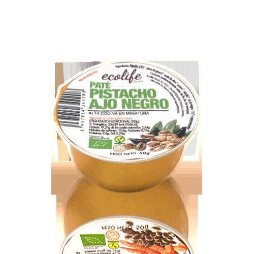 Paté de Pistacho con Ajo Negro Bio (50 g) Ecolife