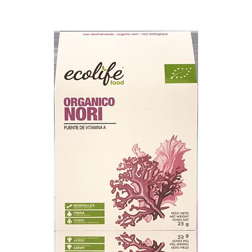 Alga Nori (25 g) Ecolife