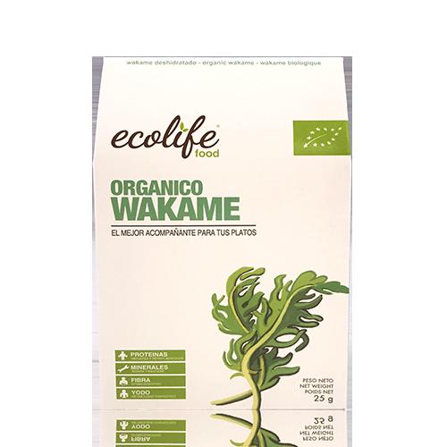 Alga Wakame (25 g) Ecolife