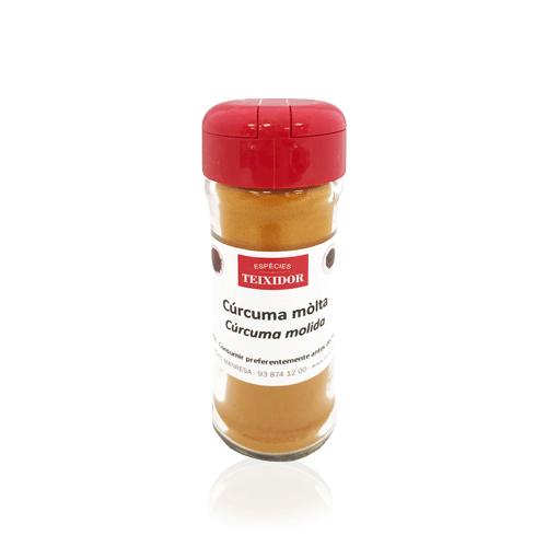 Cúrcuma en pols (48 g) Teixidor
