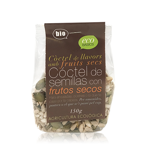 Mix Llavors i Fruits Secs (150 g) Ecobasics