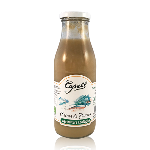 Crema de Puerros  Bio (485 g) Capell