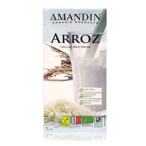 Beguda d\'Arròs Bio 1l Amandin