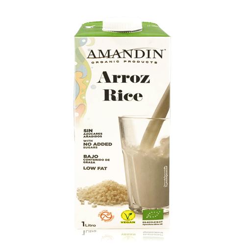 Beguda d'Arròs Bio (1 l) Amandin