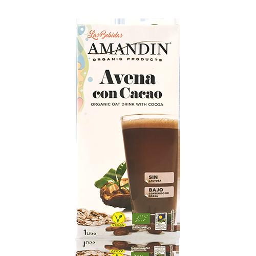 Bebida de Avena con Cacao Bio 1l Amandin
