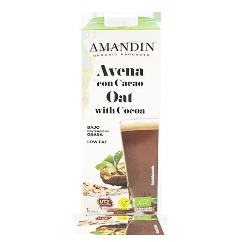 Beguda de Civada amb Cacau Bio (1 l) Amandin