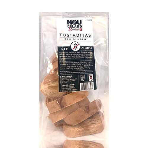 Torrades s/gluten (100 g) Delicat