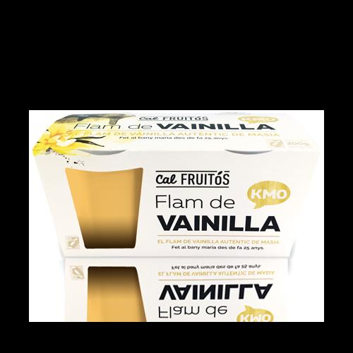 Flan Vainilla (2x105 g) Cal Fruitós