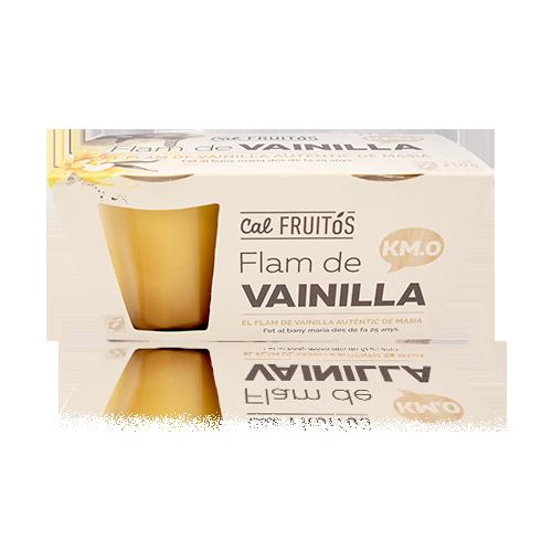 Flam de Vainilla (2x105 g) Cal Fruitós