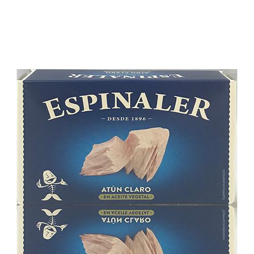 Atún Claro con Aceite (120 g) Espinaler