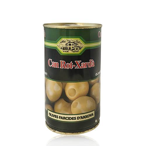 Olivas Rellenas de Anchoa Can Rot-Xardà (370 ml)