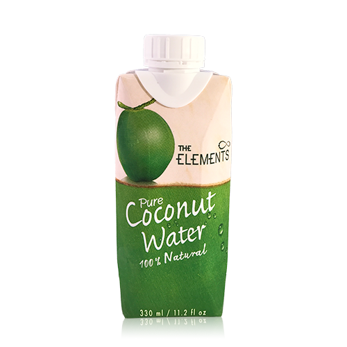 Agua de Coco Natural (33 cl) The Elements