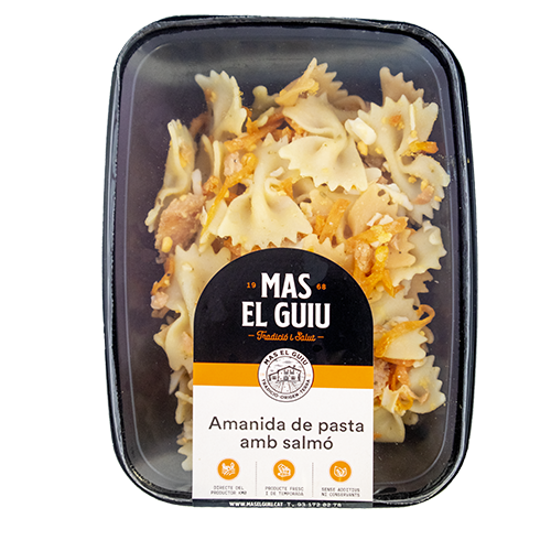 Amanida de pasta amb salmó (240 g) Mas el Guiu