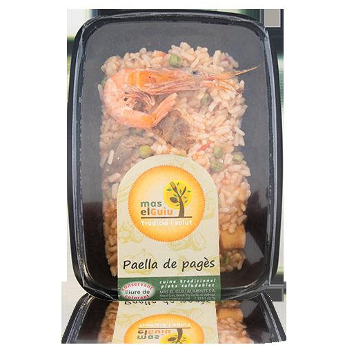 Paella de Pagès (250 g) Mas el Guiu