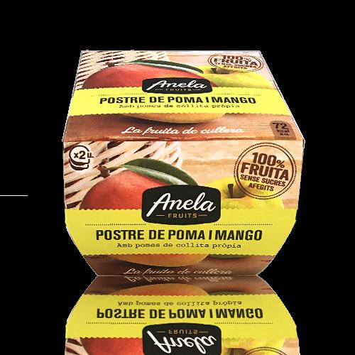 Postre Poma Mango Anela
