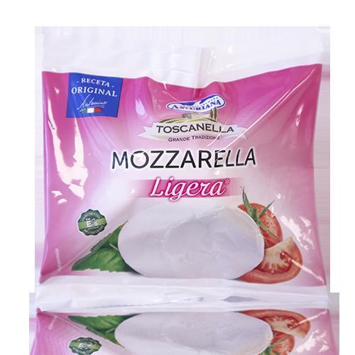 Mozzarella Fresca de Vaca Light (125 g) Toscanella/ Asturiana