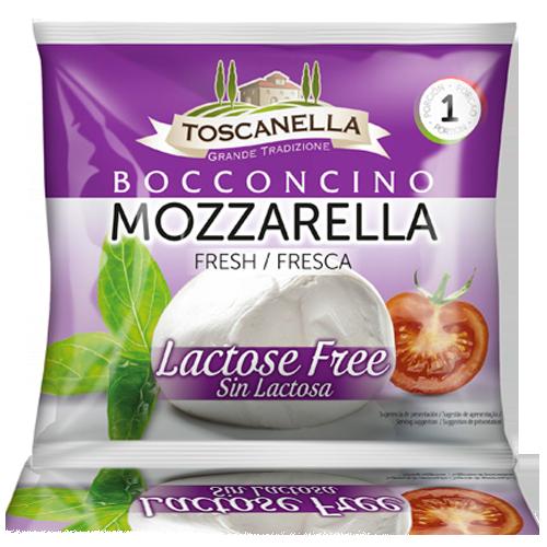 Mozzarella Fresca Vaca Sense Lactosa (125 g) Flor de Burgos