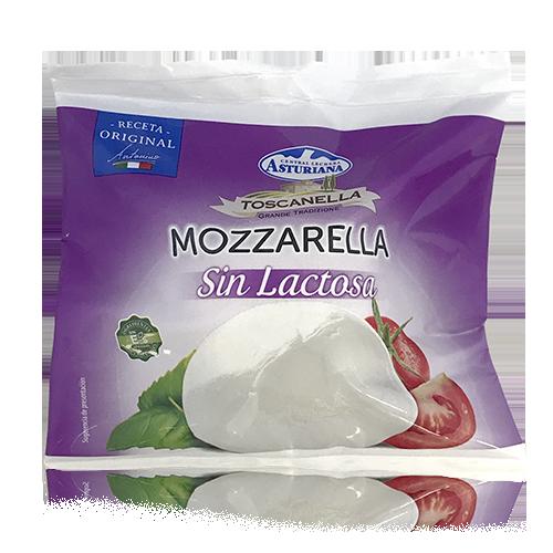 Mozzarella Fresca Vaca Sin Lactosa (125 g) Toscanella/ Asturiana