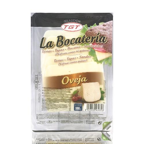 Queso de oveja manchego Rodajas (100g) La Bocatería