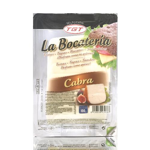 Queso Puro de Cabra Lonchas (100g) La Bocatería