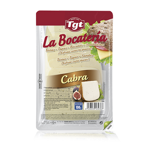 Queso Puro de Cabra Lonchas (100 g) La Bocatería