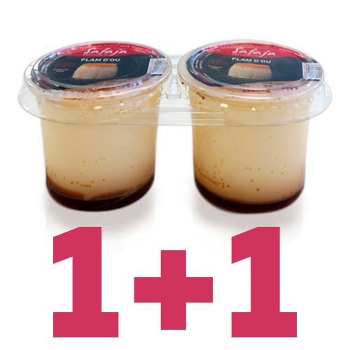 1+1 Flan de Huevo Safaja pack (2x125 g)