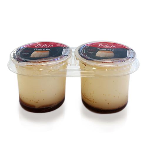 Flan de Huevo Safaja pack (2x125 g)