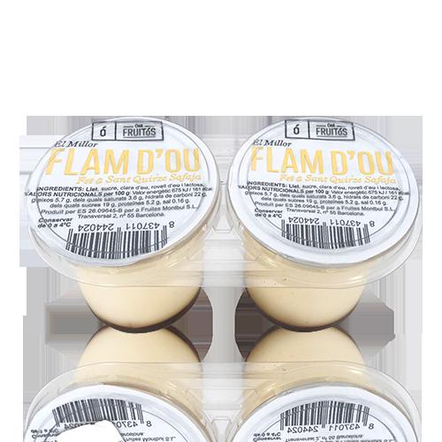 Flan de Huevo (2x125 g) Cal Fruitós