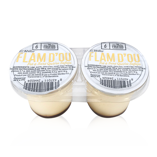 Flam d´Ou (2x125 g) Cal Fruitós