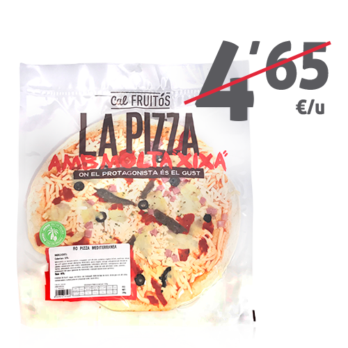 Pizza Mediterrànea (390 g) Cal Fruitós