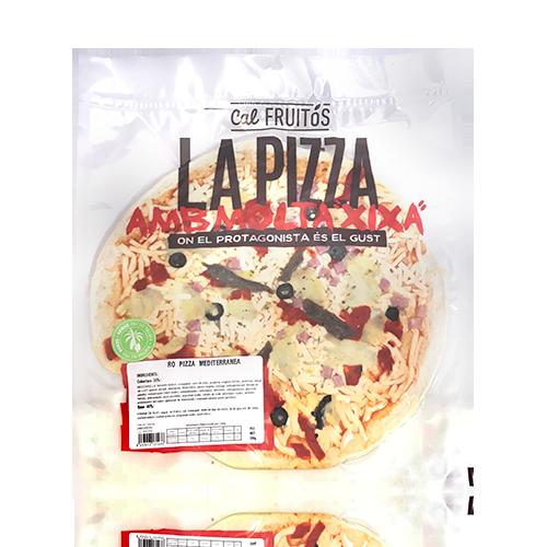 Pizza Mediterránea (390 g) Cal Fruitós