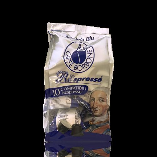 Café Respreso Borbone Blu 10 cápsulas