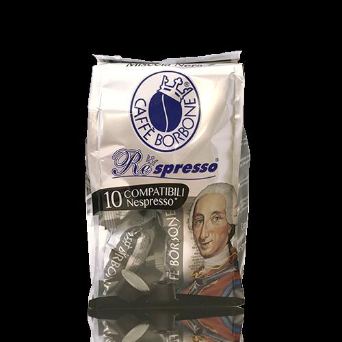 Cafè Respresso Borbone Nera 10 càpsules