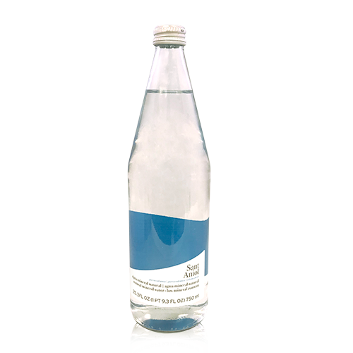 Aigua Ampolla de vidre (0,75L) Sant Aniol