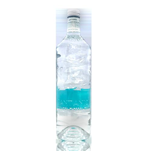 Agua Botella de cristal reciclado (0,75 l) Sant Aniol