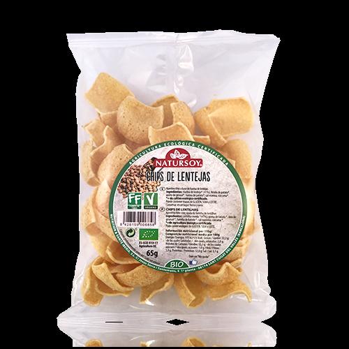 Chips de Lentejas Natursoy (65g)
