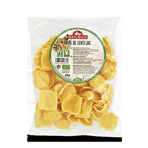Chips Lentejas (65 g) Natursoy